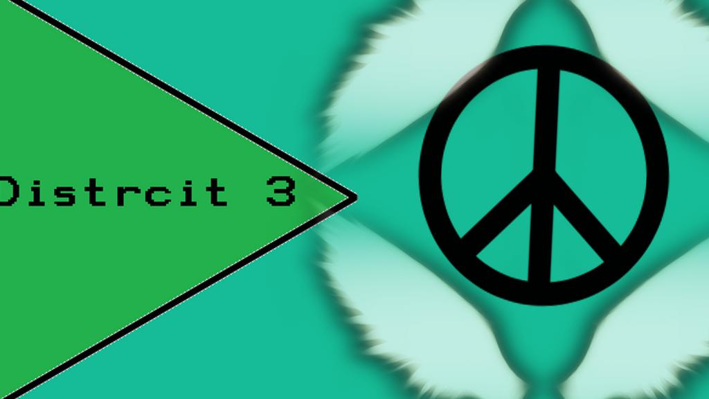 District 3 Flag by ProjectDNP-Manga