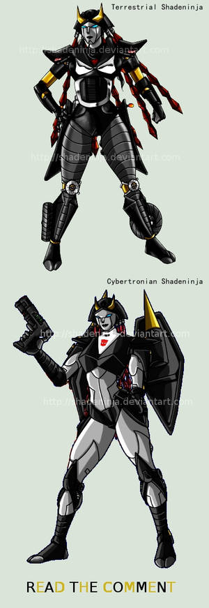 Shadeninja, my OC