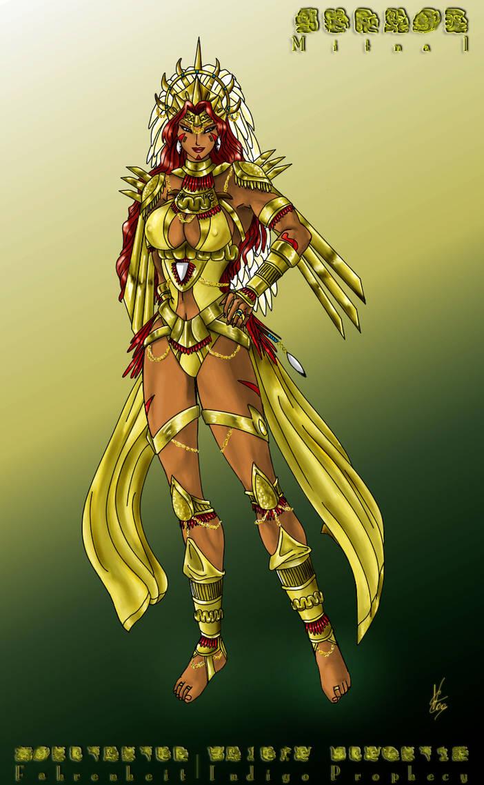 Mitnal, Goddess of Chroma - Fahrenheit OC
