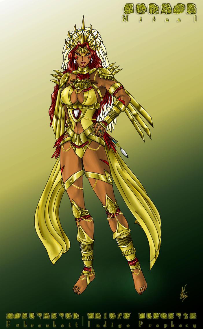 Mitnal, Goddess of massacre - Fahrenheit OC by ShadeNinja