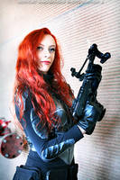 G.I. Joe - Scarlett cosplay 15 by ShadeNinja