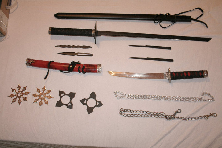 Ninja weapons list