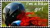 I'm a biker girl stamp 3 by ShadeNinja