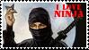 Ninja stamp by ShadeNinja