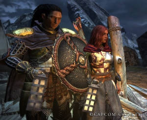 Maya and Tezcacotal,  the Arisen and the pawn