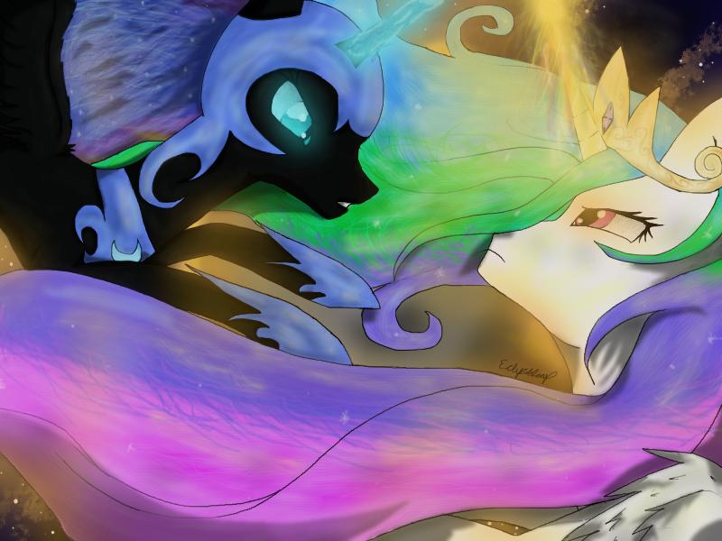 princess celestia vs nightmare - photo #4