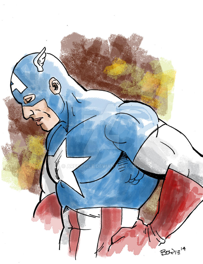 Captain America by Areophile