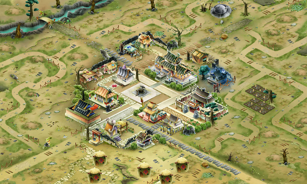 Game Environment Design By Mantisding On Deviantart
