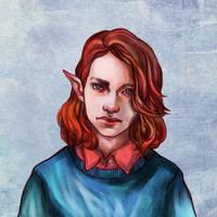 Elf by DaryaSpace