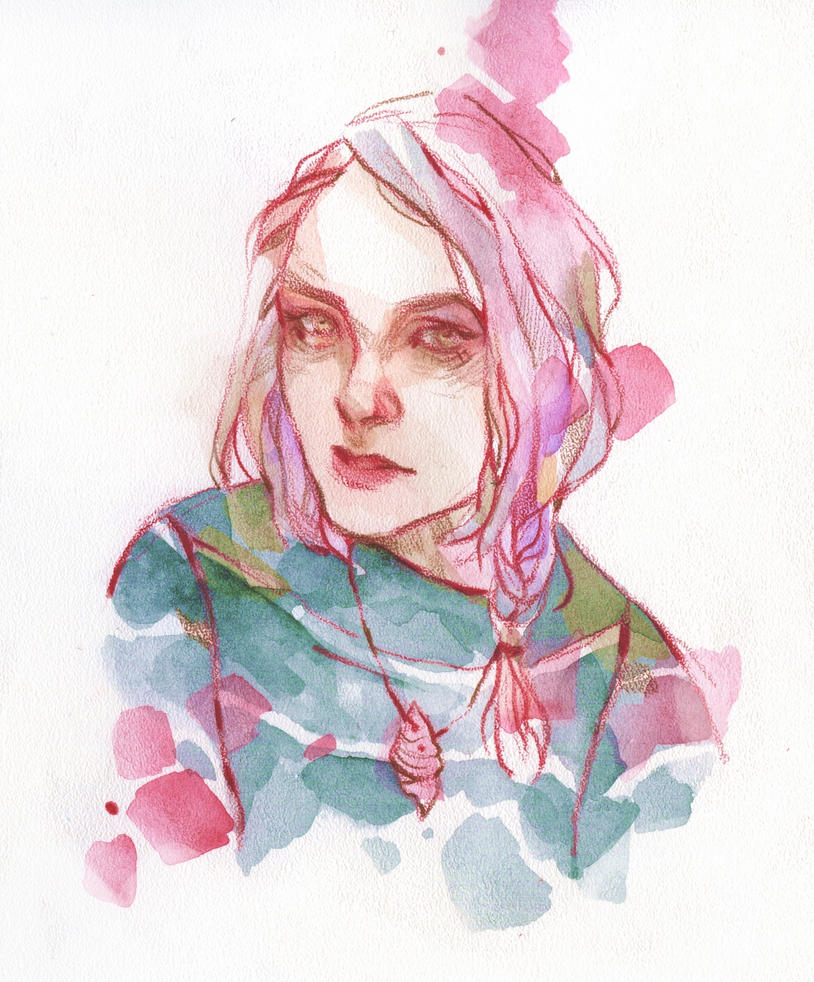 Custom Portrait by DaryaSpace