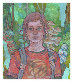 Commission : Ellie by DaryaSpace