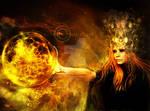The Sorceress of Black Magic