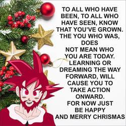 Chrismas Message by brandonking2013
