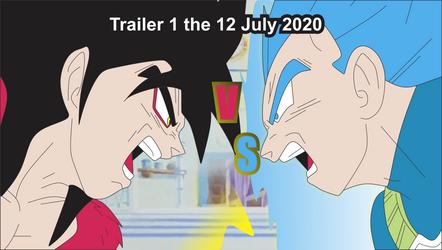 Goku Vs Vegeta Trailer Announcement by brandonking2013