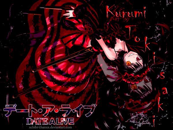 Tokisaki Kurumi From Date A Live By XChibi ChanxX