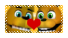 Fredbear x SpringBonnie (FNAF World) Stamp by DuhEEva