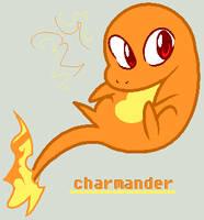 Charmander by Rhinne
