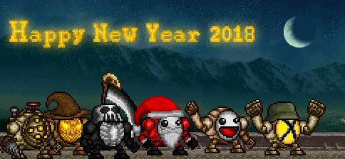 Happy New Year 2018 by monsterdestroyer24