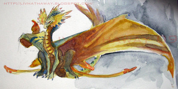 Indo dragon by LivHathaway