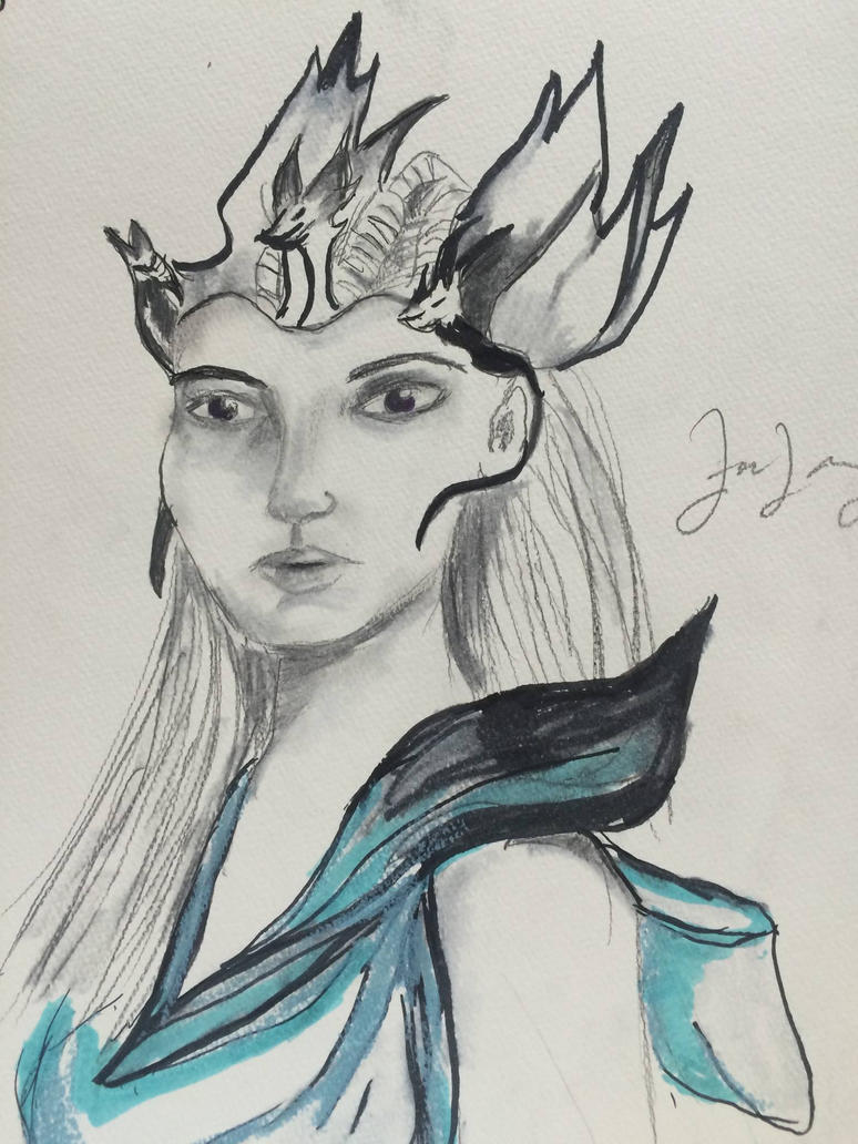 Queen Visenya, wife of Aegon the Conqueror by ZoeCicero