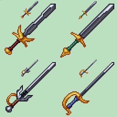 Swords Batch by odedro