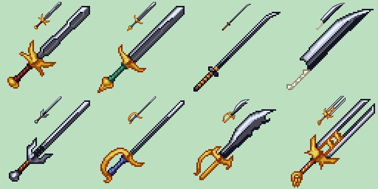 Swords Batch Update #2 by odedro