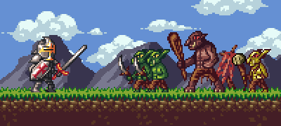 Attack on Goblin by odedro