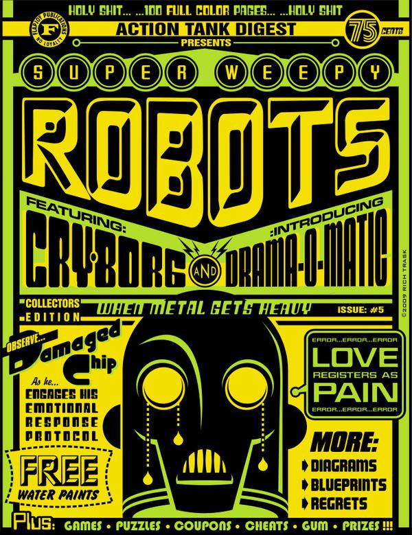 Super Weepy Robots by FlapJoy