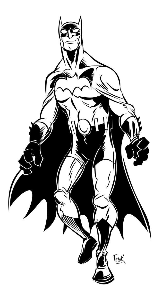 Just Batman... by FlapJoy