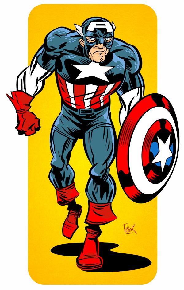 Captain America: Marvel Universe Handbook Reduxe by FlapJoy