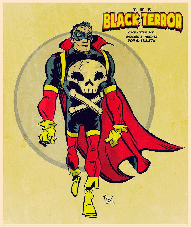 Vintagy Black Terror... by FlapJoy