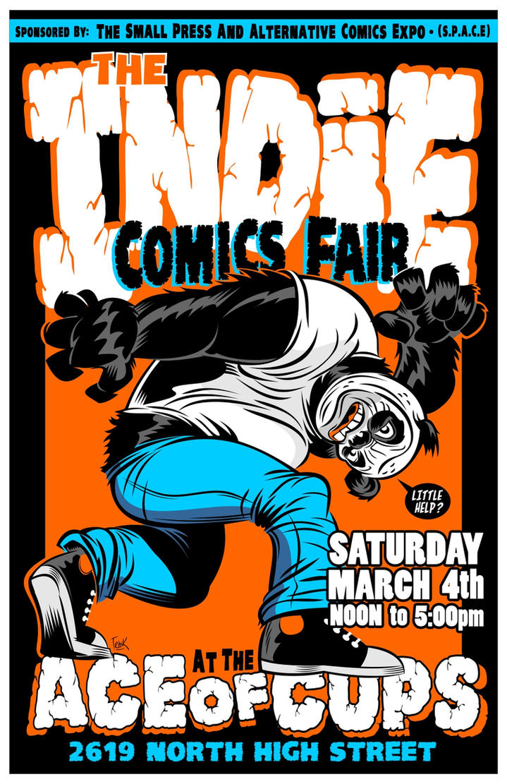 Indie Comics Fair 2017... by FlapJoy
