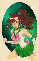 Sailor Jupiter by Watertae