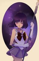 Sailor Saturn by Watertae