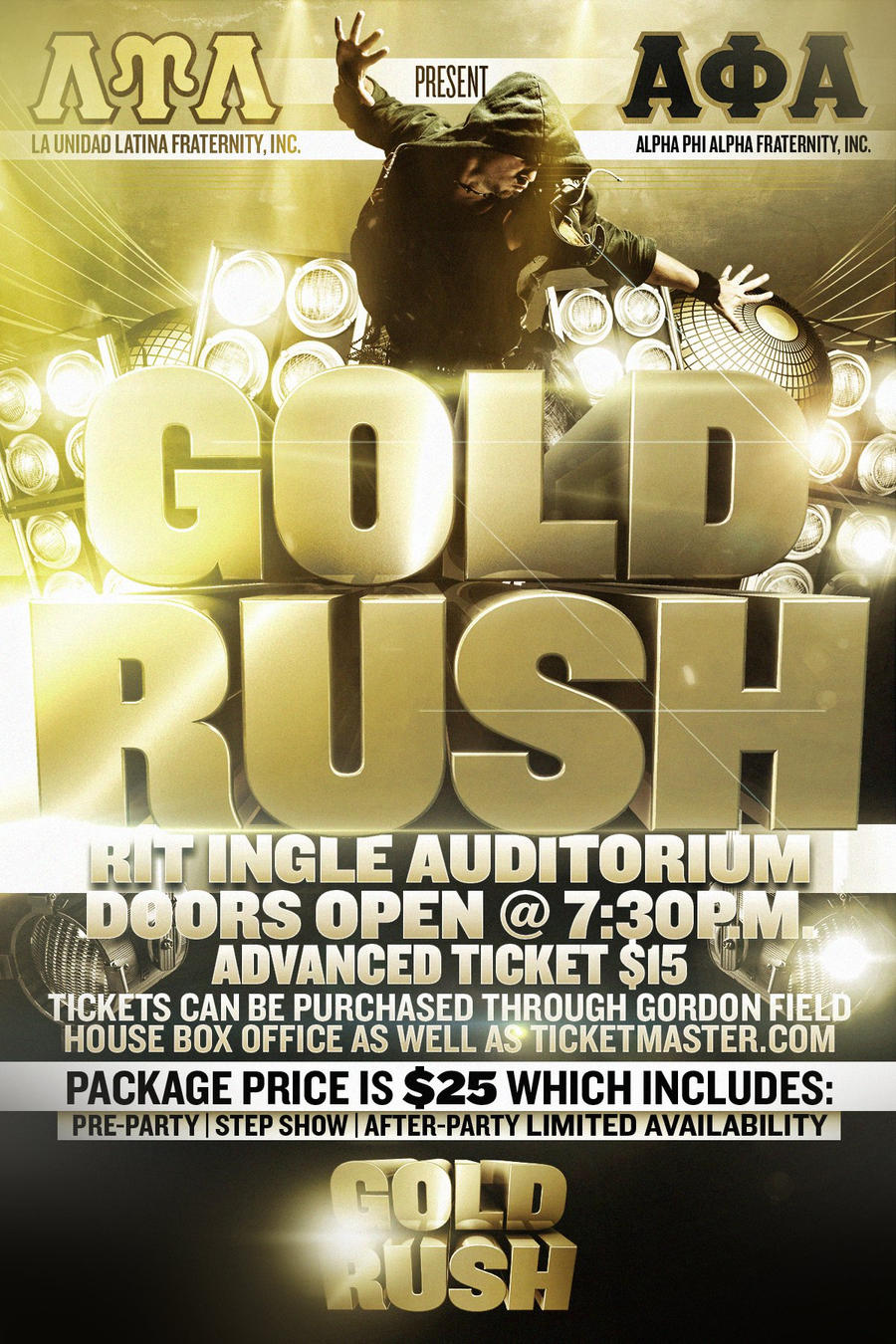 gold rush flyer by v1sualpoetry on deviantart