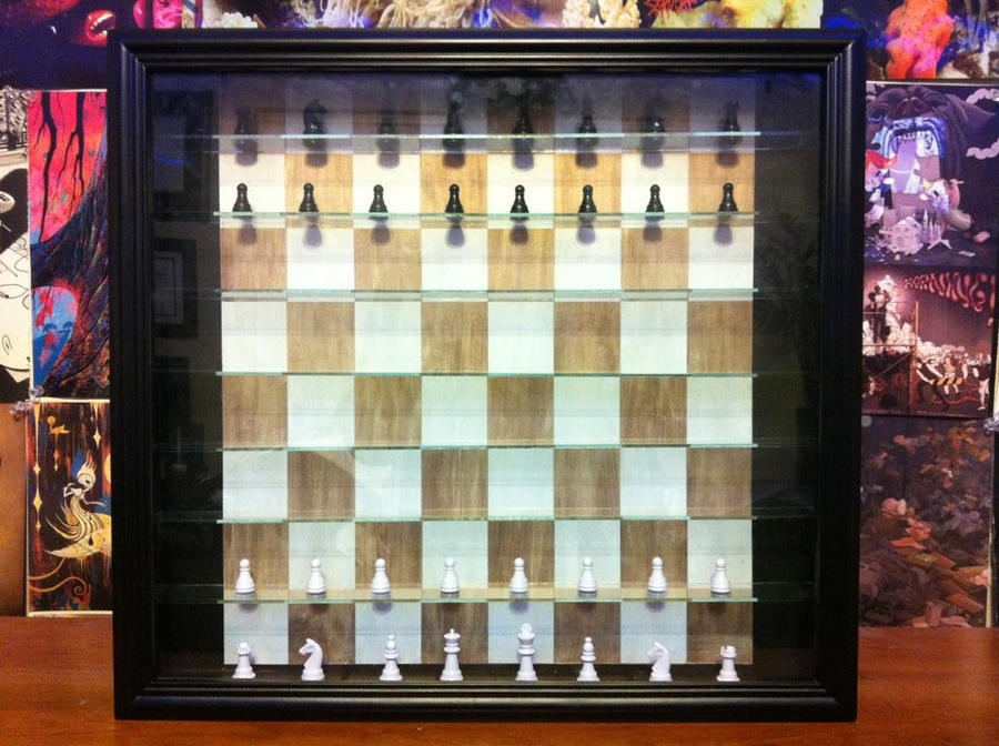 Gf And I Made Ourselves A Standing Chess Set Buying These