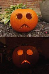 Spoopy Pumpkin