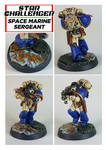 Space Marine Sergeant by ColonelYeo