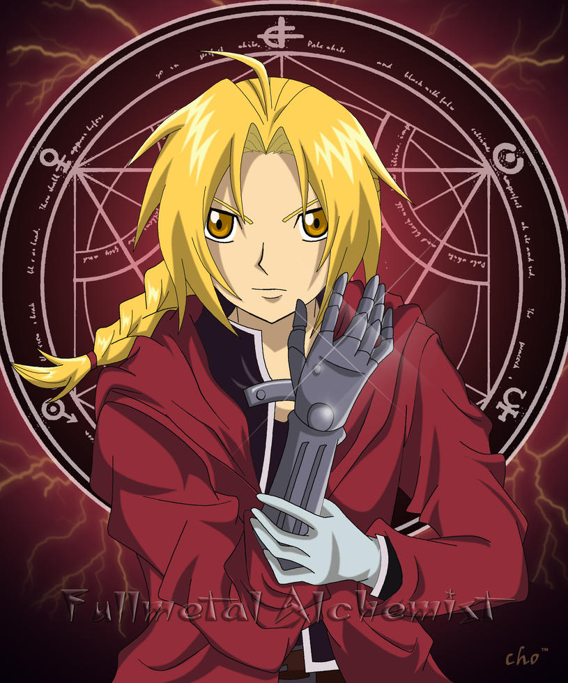 FMA Edward Elric by cho-changTM