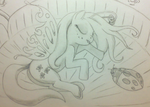 Sleeping Fairy Fluttershy (NATG III Day 6)