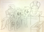 Rainbow Dash and Applejack Museum Visit (NATG D12)