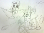 Sweetie Belle Lost at Sea/Applebloom to the Rescue