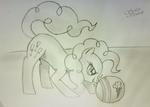 Gotcha - Pinkie Pie Practices Tag on the Beach