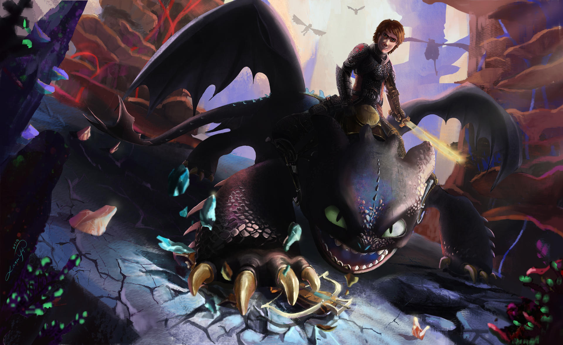The Landing Assault: HTTYD3 DUO CONTEST