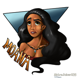 Moana Collab by IRHappie
