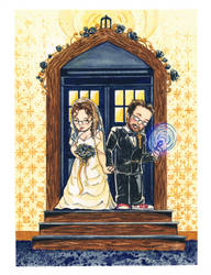 A Doctor Who Wedding by LeighSimmons
