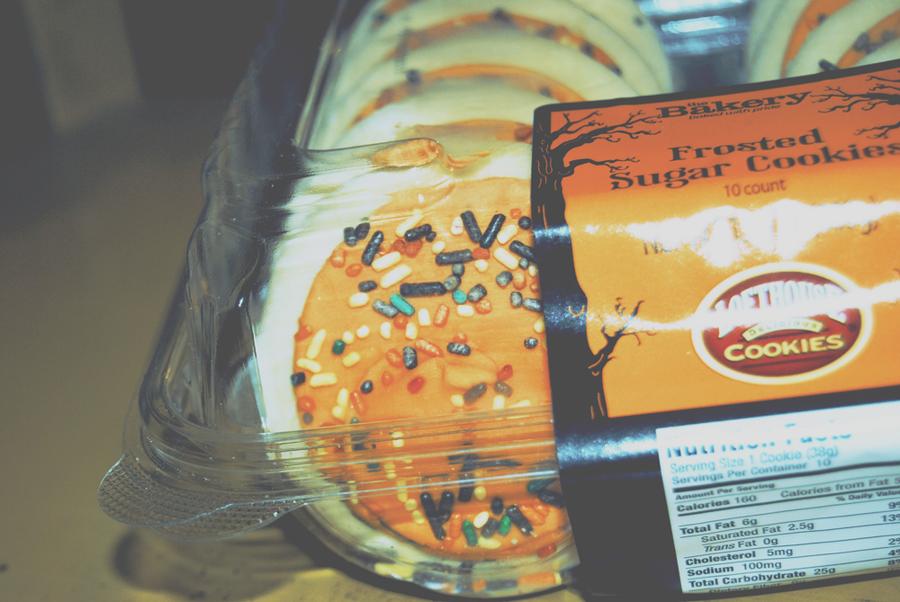 walmart halloween cookies by thinminmeg