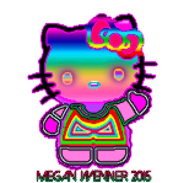 Hello Kitty Pixel by thinminmeg