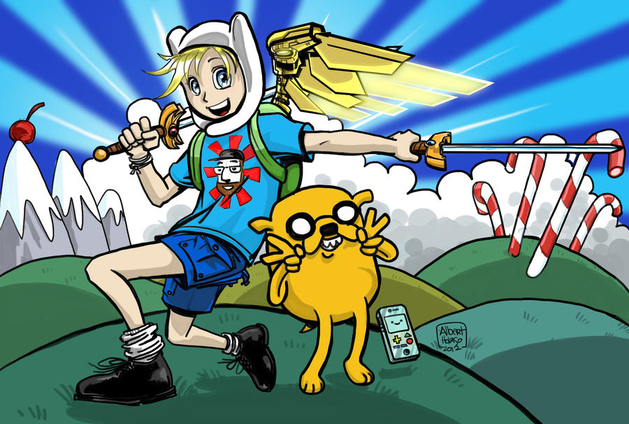 Anime-style Finn From Adventure Time By Holaso On DeviantArt