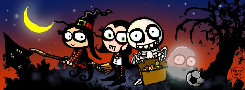Holaso Halloween Facebook Cover by holaso on DeviantArt